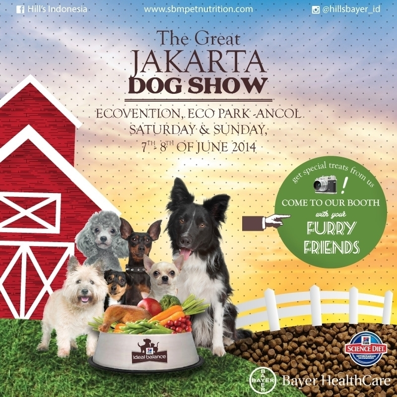 The Great Jakarta Dog Show 2014